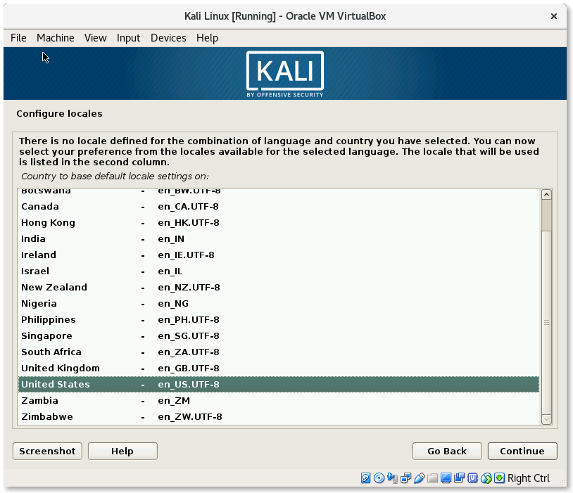 Create Kali Linux VirtualBox image – Gordon Lesti