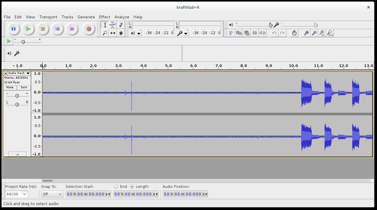 Digitize a vinyl record with Audacity on Linux – Gordon Lesti