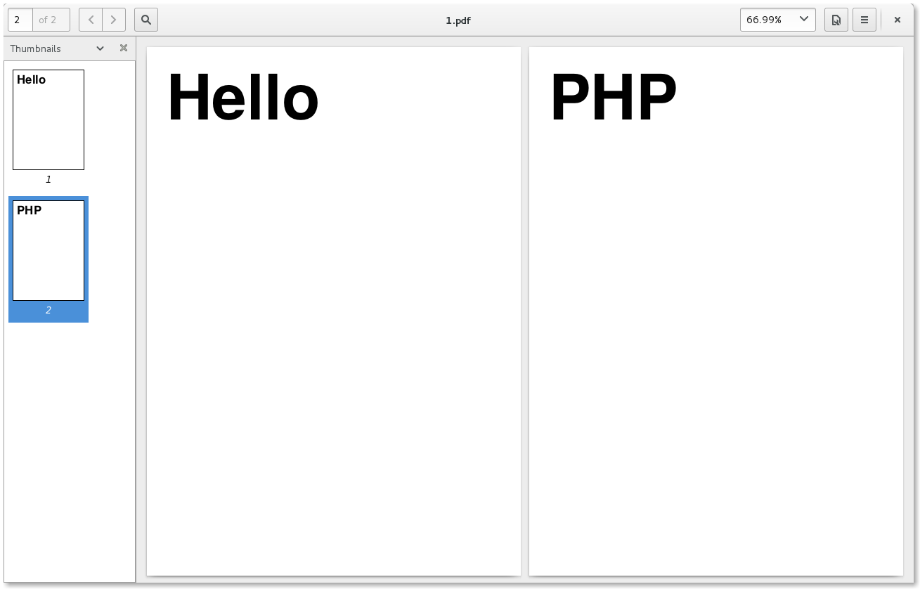 How To Generated Pdf File In Php